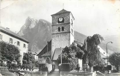 """CPSM FRANCE 74 """"Samoëns, l'église et le Criou"""""""