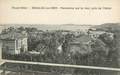 "CPA FRANCE 06 ""Beaulieu sur Mer, panorama sur la mer"""