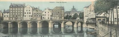 """CPA FRANCE 77 """"Meaux, pont du marché"""""""