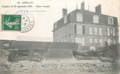 """CPA FRANCE 14 """"Asnelles, tempête du 30 septembre 1905"""""""