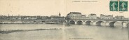 """42 Loire CPA PANORAMIQUE FRANCE 42 """"Roanne, vue panoramique sur la Loire"""""""