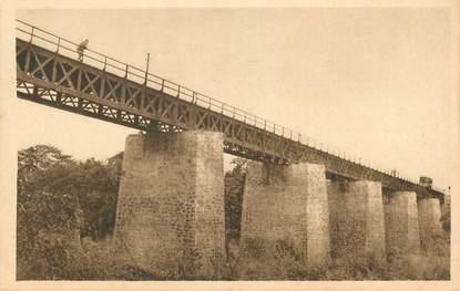 """CPA BÉNIN """"Ouémé, pont du chemin de fer""""/ N° 91"""