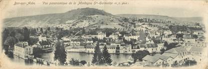 """CPA PANORAMIQUE FRANCE 10 """"Bar sur Aube, vue panoramique de la montagne Sainte Germaine"""""""