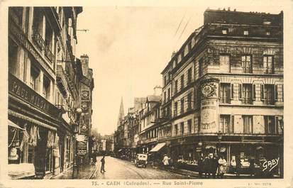 "CPA FRANCE 14 ""Caen, rue Saint Pierre"""