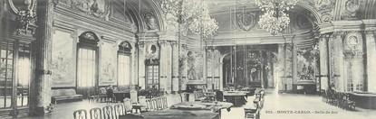 "CPA PANORAMIQUE MONACO ""Monte Carlo, salle de jeu"" / CASINO"