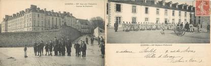 """CPA PANORAMIQUE FRANCE 29 """"Quimper, 118ème régiment d'Infanterie, caserne du Séminaire"""""""