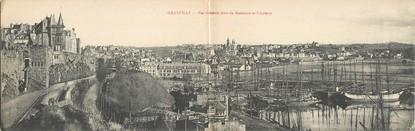 """CPA PANORAMIQUE FRANCE 50 """"Granville, vue générale"""""""