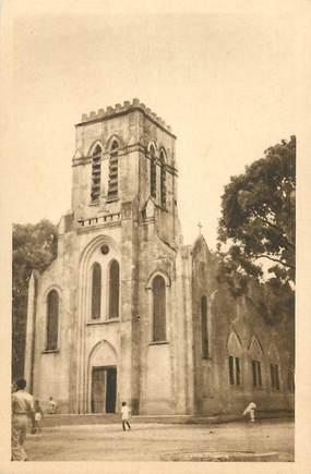 "CPA BÉNIN ""Ouidah, l'Eglise catholique""/ N° 97"