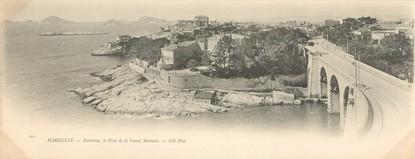 """CPA PANORAMIQUE FRANCE 13 """"Marseille, Endoume, le pont de la Fausse Monnaie"""""""