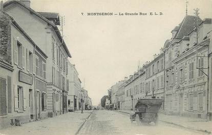"""CPA FRANCE 91 """"Montgeron, la grande rue"""""""