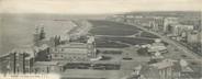 """76 Seine Maritime CPA PANORAMIQUE FRANCE 76 """"Dieppe, le casino et la plage"""""""