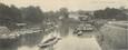 """CPA PANORAMIQUE FRANCE 95 """"L'Isle Adam, bras et pont du Cabouillet"""""""