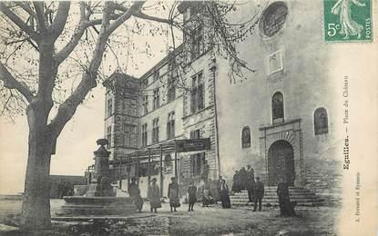 """/ CPA FRANCE 13 """"Eguilles, place du château"""""""