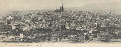 """CPA PANORAMIQUE FRANCE 63 """"Clermont Ferrand"""""""