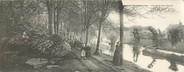 """29 Finistere CPA PANORAMIQUE FRANCE 29 """"Pont Aven, l'entrée du bois d'Amour"""""""