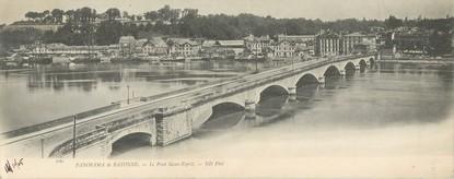 """CPA PANORAMIQUE FRANCE 64 """"Bayonne, le pont Saint Esprit """""""