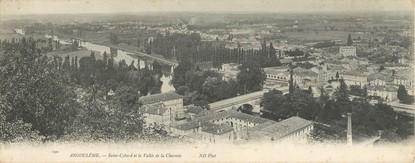 """CPA PANORAMIQUE FRANCE 16 """"Angoulême, Saint Cybard et la vallée de la Charente"""""""