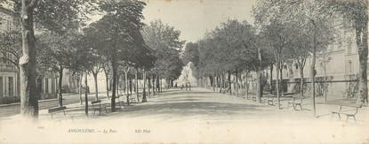 """CPA PANORAMIQUE FRANCE 16 """"Angoulême, le parc"""""""