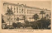 """06 Alpe Maritime CPA FRANCE 06 """"Nice, hôtel Plaza et France"""" / PARIS RP IMPRIMES"""