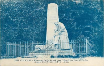 "CPA FRANCE 92 ""Clamart, monument aux morts"""