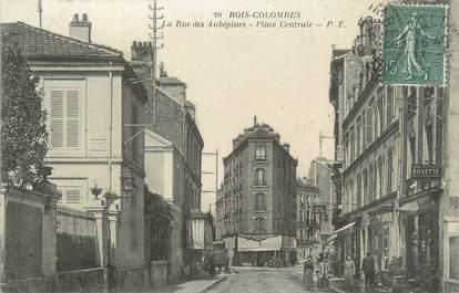 """CPA FRANCE 92 """"Bois Colombes, la rue des Aubépines"""""""