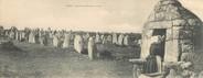 """56 Morbihan CPA PANORAMIQUE FRANCE 56 """"Carnac, alignements de Kermario"""""""