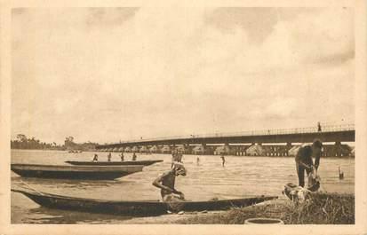 "CPA BÉNIN ""Porto Novo, le pont sur la Lagune"" / N° 112"