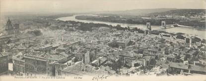 """CPA PANORAMIQUE FRANCE 84 """"Avignon, vue prise de la Cathédrale"""""""