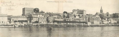 """CPA PANORAMIQUE FRANCE 78 """"Conflans Saint Honorine, vue d'ensemble"""""""