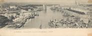 "17 Charente Maritime CPA PANORAMIQUE FRANCE 17 ""La Rochelle, panorama du port"""