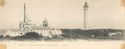 """CPA PANORAMIQUE FRANCE 17 """"Ile de Ré, Saint Clément"""""""