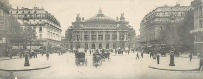 "CPA PANORAMIQUE FRANCE 75002 ""Paris, Opéra"""
