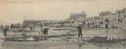 """76 Seine Maritime CPA PANORAMIQUE FRANCE 76 """"Le Tréport, la plage à marée basse"""""""