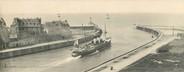 """76 Seine Maritime CPA PANORAMIQUE FRANCE 76 """"Dieppe, le Steamer"""" / BATEAU"""
