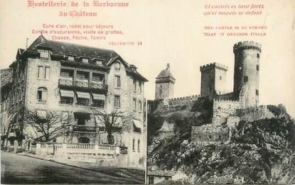 """CPA FRANCE 09 """"Hostellerie de la Barbacane du château"""""""