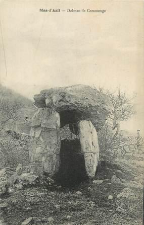 """CPA FRANCE 09 """"Mas d'Azil, dolmen de Commenge"""""""