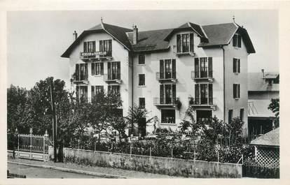 "CPSM FRANCE 74 ""Annecy, hôtel pension du Parmelan"""