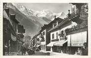 """74 Haute Savoie CPSM FRANCE 74 """"Chamonix, rue Nationale"""""""