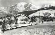 """74 Haute Savoie CPSM FRANCE 74 """"Combloux, vue sur la chaine du Montblanc"""""""