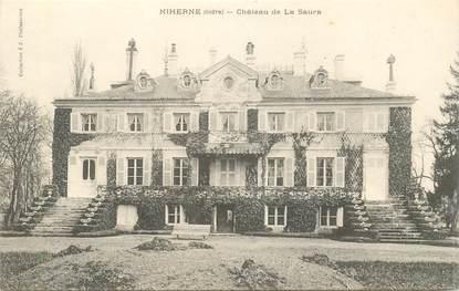 """CPA FRANCE 36 """"Niherne, Chateau de La Saura"""""""