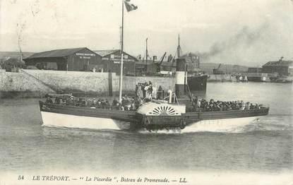 """CPA FRANCE 76 """"Le tréport, la Picardie"""" / BATEAU"""