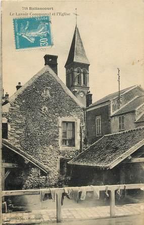 """CPA FRANCE 91 """"Ballancourt, le lavoir communal"""""""