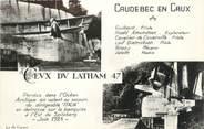 """76 Seine Maritime CPSM FRANCE 76 """"Caudebec en Caux, monument Latham"""""""