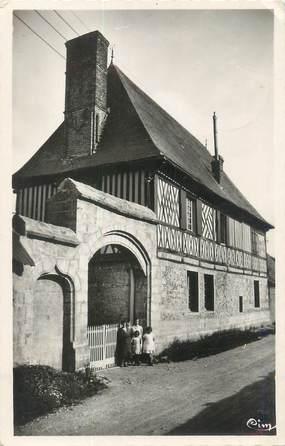"""CPSM FRANCE 76 """"Bourg Dun, le portail antique"""""""