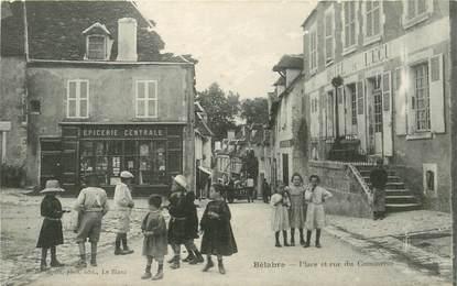 """CPA FRANCE 36 """"Bélabre, Place et rue du Commerce"""""""