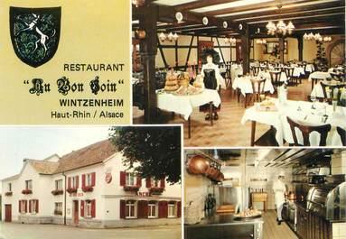 cpsm france 68 wintzenheim restaurant au bon coin 68 haut rhin autres communes 68 ref. Black Bedroom Furniture Sets. Home Design Ideas