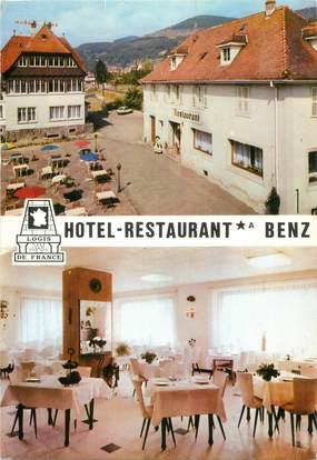 "CPSM FRANCE 68 ""Metzeral, hôtel restaurant Benz"""