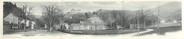 """38 Isere CPA PANORAMIQUE FRANCE 38 """"Uriage Les Bains, vue panoramique de la station thermale"""""""