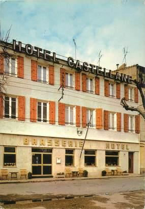 "CPSM FRANCE 66 ""Port Vendres, hôtel restaurant La Castellane"""