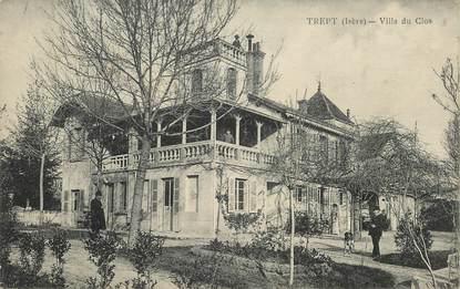 """CPA FRANCE 38 """"Trept, villa du Clos"""""""